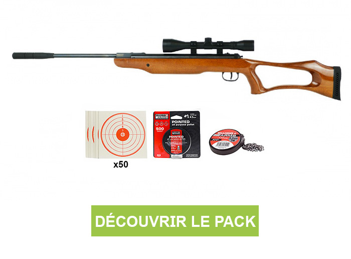 carabine pack accessoires Swiss arms Yellow Bird